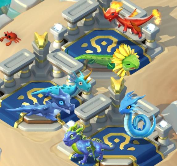 """11. Quête de type """" Croise un dragon """" Dragon11"""