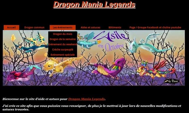 02.  Page, groupe Facebook et site internet concernant le jeu. Site_i10