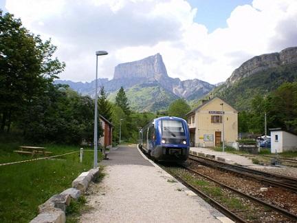 Les trains dans les Alpes