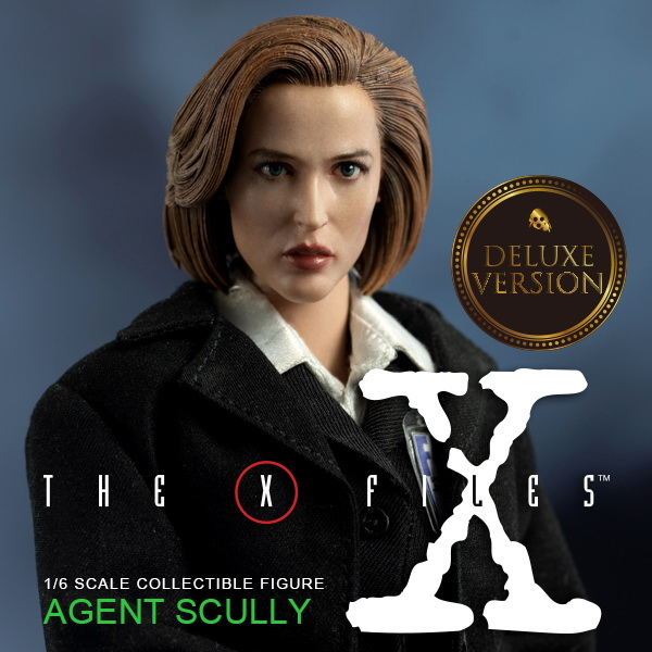 scifi - NEW PRODUCT: Threezero: The X-Files: Agent Dana Scully 1/6 scale collectible figure (Updated 5/4/18) 08323110
