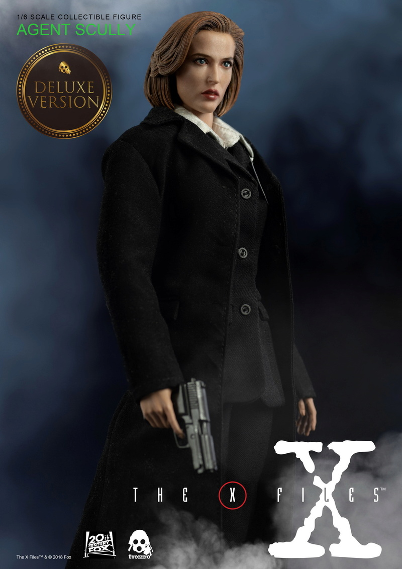 scifi - NEW PRODUCT: Threezero: The X-Files: Agent Dana Scully 1/6 scale collectible figure (Updated 5/4/18) 08323310