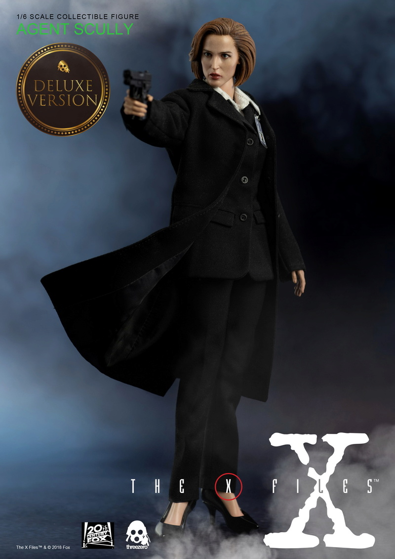 scifi - NEW PRODUCT: Threezero: The X-Files: Agent Dana Scully 1/6 scale collectible figure (Updated 5/4/18) 08323510