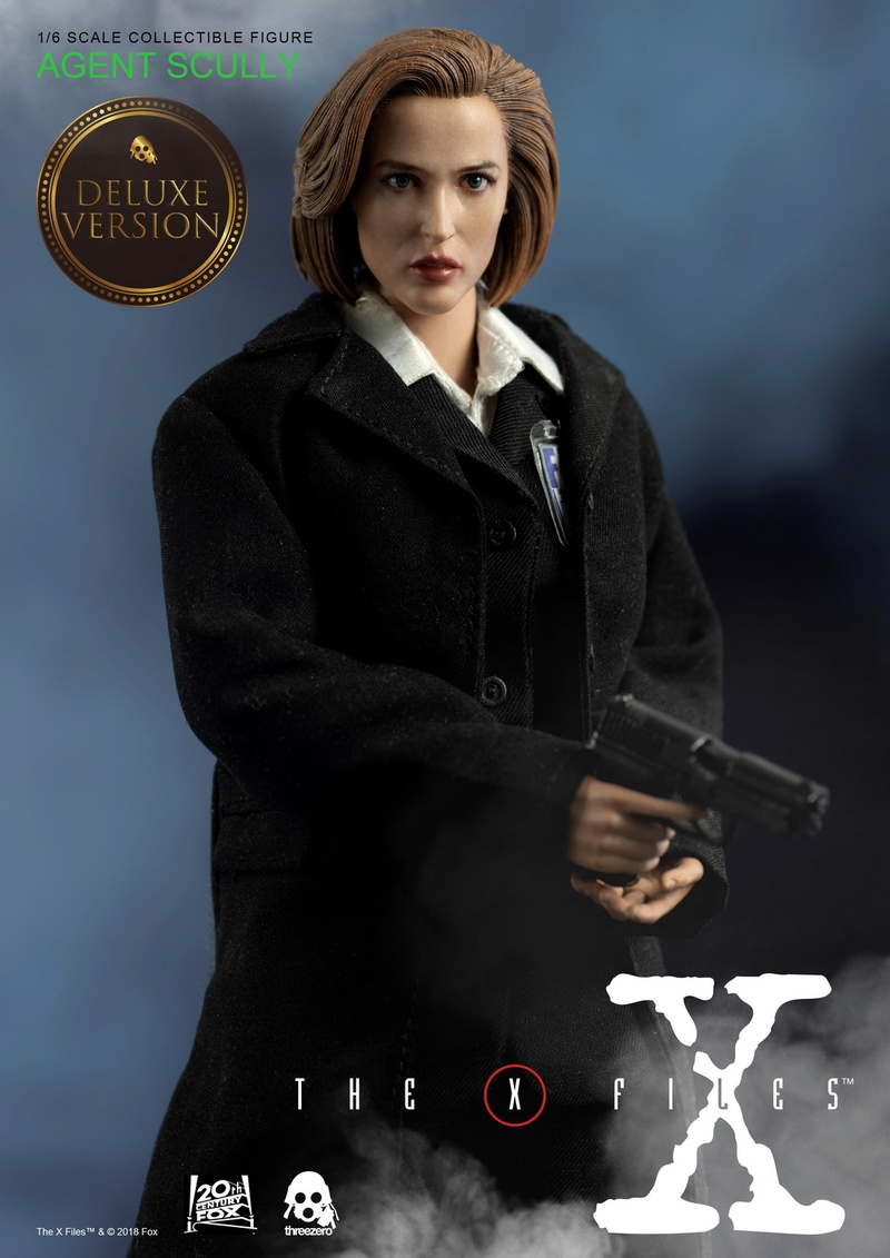scifi - NEW PRODUCT: Threezero: The X-Files: Agent Dana Scully 1/6 scale collectible figure (Updated 5/4/18) 08323710