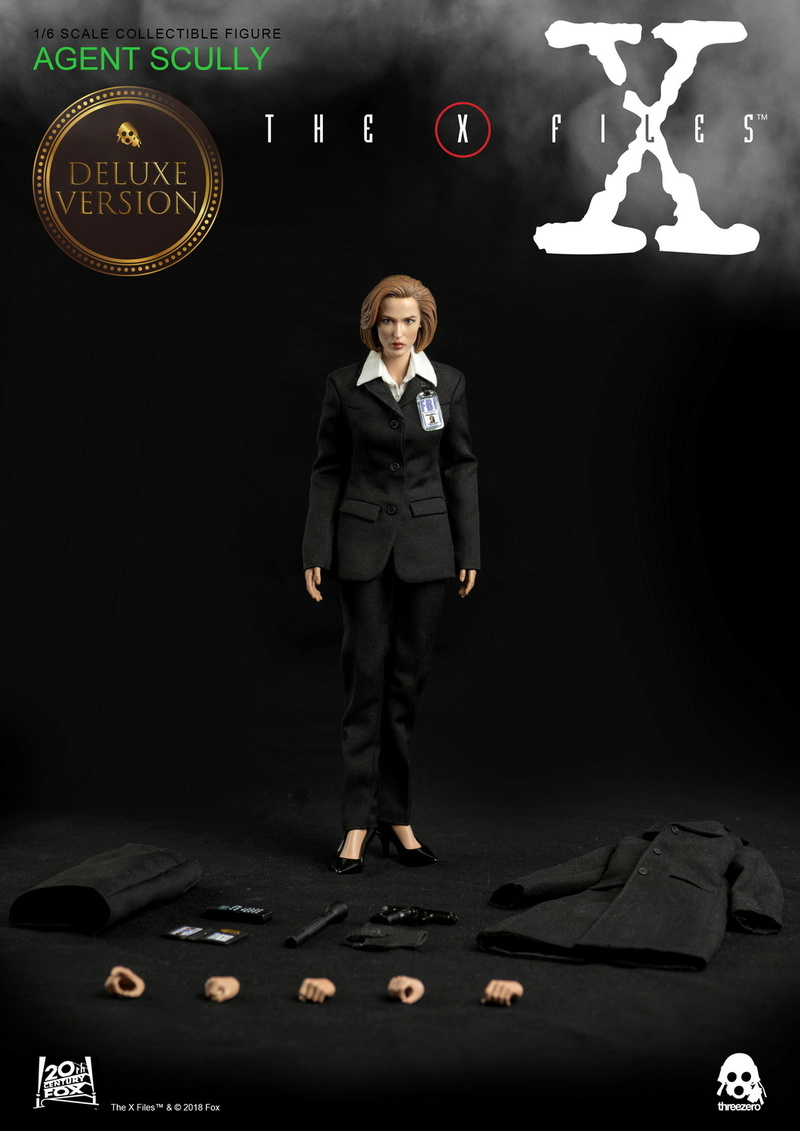 scifi - NEW PRODUCT: Threezero: The X-Files: Agent Dana Scully 1/6 scale collectible figure (Updated 5/4/18) 08323910