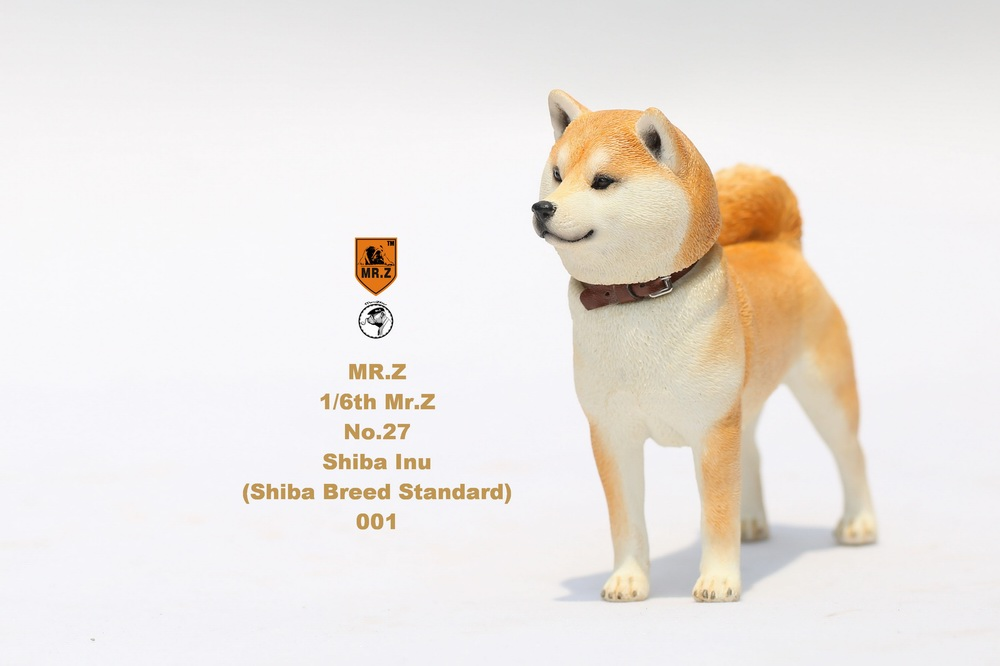 NEW PRODUCT: Mr.Z 1/6 Animal Model No. 27: Japanese shiba Inu X 3 10033010
