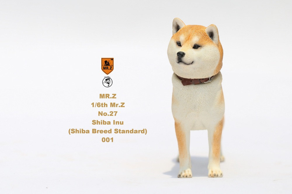 NEW PRODUCT: Mr.Z 1/6 Animal Model No. 27: Japanese shiba Inu X 3 10033011