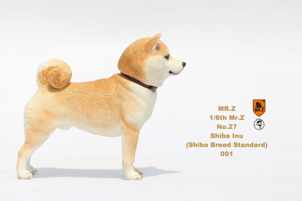 NEW PRODUCT: Mr.Z 1/6 Animal Model No. 27: Japanese shiba Inu X 3 10033111