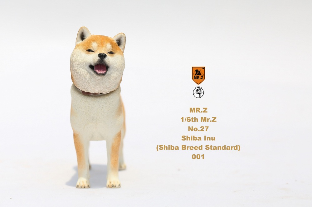 NEW PRODUCT: Mr.Z 1/6 Animal Model No. 27: Japanese shiba Inu X 3 10033210