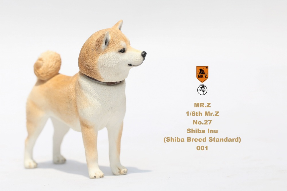 NEW PRODUCT: Mr.Z 1/6 Animal Model No. 27: Japanese shiba Inu X 3 10033211