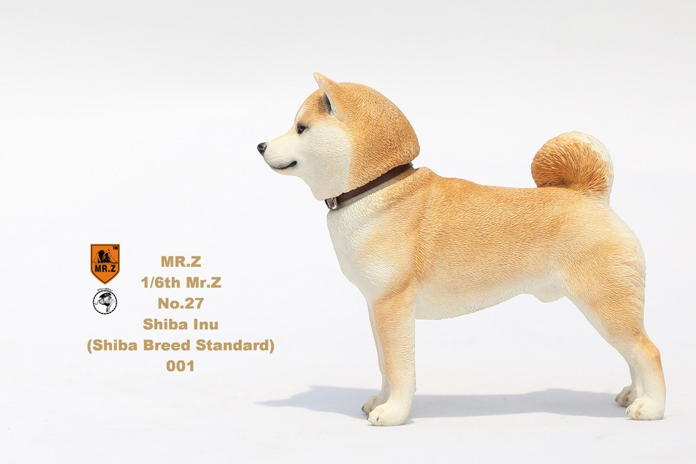 NEW PRODUCT: Mr.Z 1/6 Animal Model No. 27: Japanese shiba Inu X 3 10033212