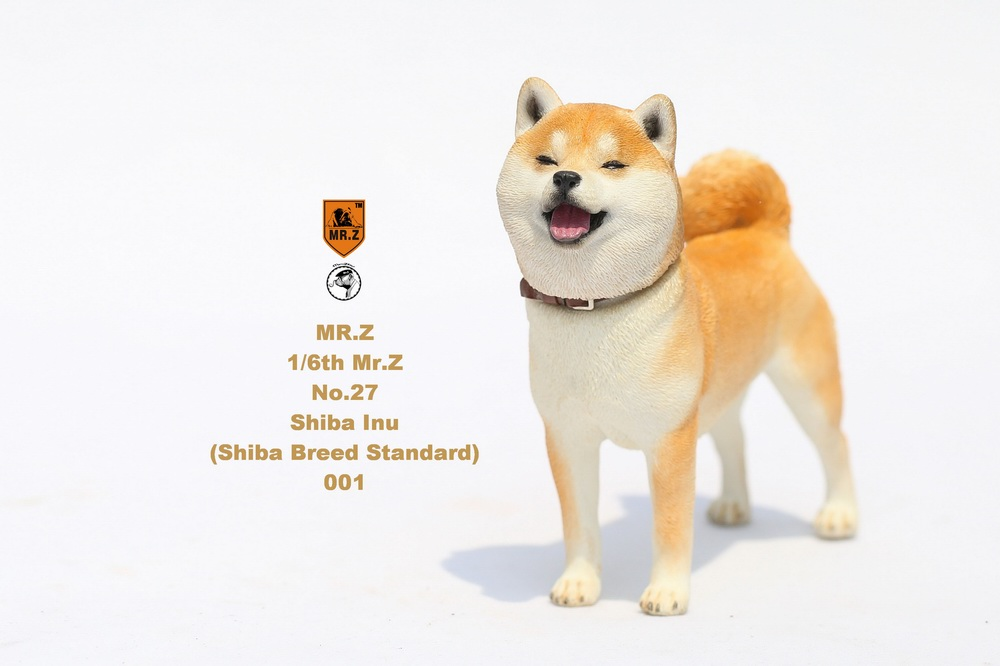 NEW PRODUCT: Mr.Z 1/6 Animal Model No. 27: Japanese shiba Inu X 3 10033410