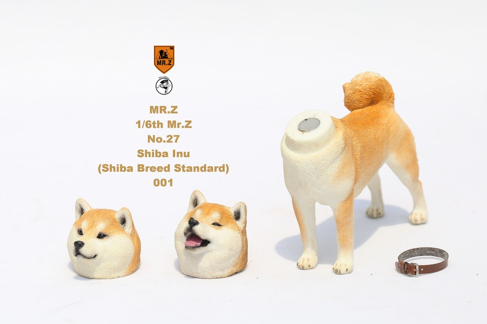 NEW PRODUCT: Mr.Z 1/6 Animal Model No. 27: Japanese shiba Inu X 3 10033510