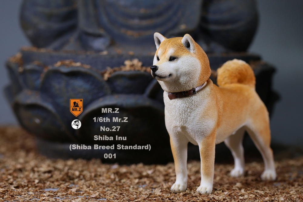 NEW PRODUCT: Mr.Z 1/6 Animal Model No. 27: Japanese shiba Inu X 3 10033610