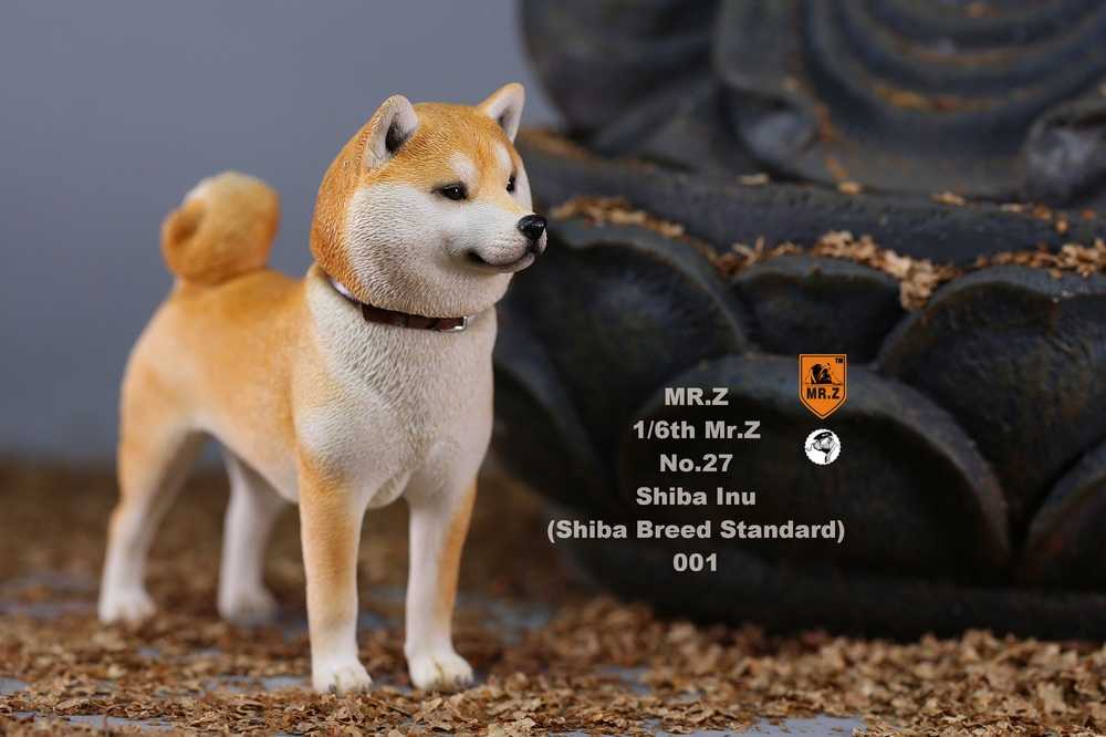 NEW PRODUCT: Mr.Z 1/6 Animal Model No. 27: Japanese shiba Inu X 3 10033810
