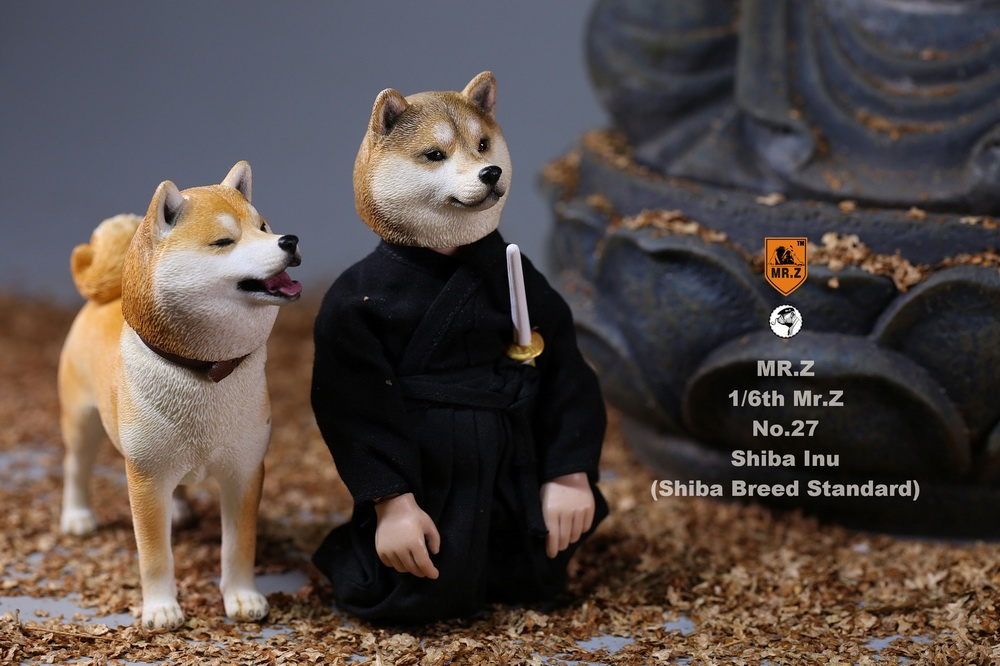 NEW PRODUCT: Mr.Z 1/6 Animal Model No. 27: Japanese shiba Inu X 3 10033811