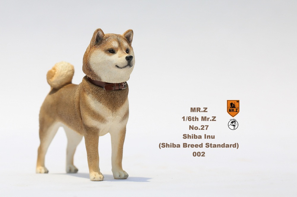 NEW PRODUCT: Mr.Z 1/6 Animal Model No. 27: Japanese shiba Inu X 3 10072810