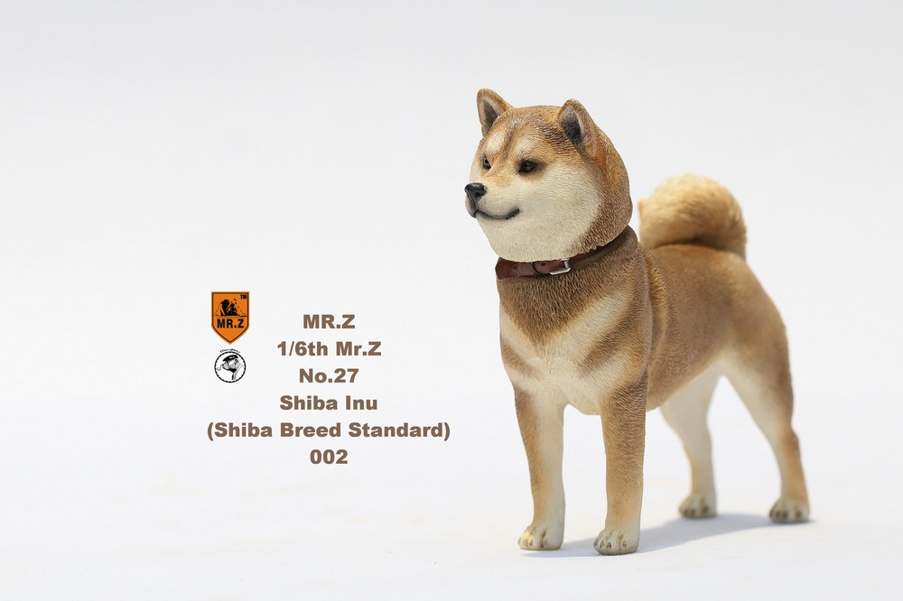 NEW PRODUCT: Mr.Z 1/6 Animal Model No. 27: Japanese shiba Inu X 3 10072811