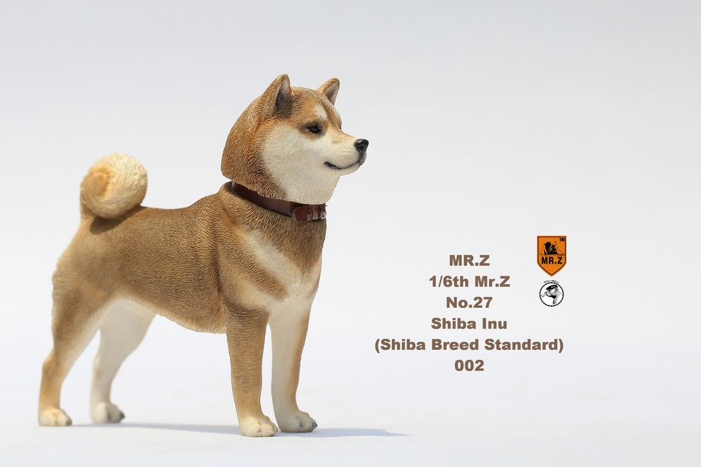 NEW PRODUCT: Mr.Z 1/6 Animal Model No. 27: Japanese shiba Inu X 3 10072812