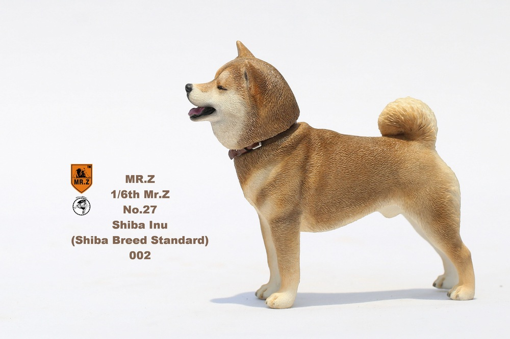 NEW PRODUCT: Mr.Z 1/6 Animal Model No. 27: Japanese shiba Inu X 3 10073110