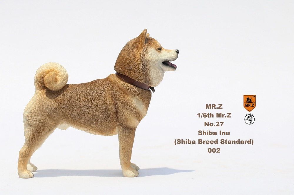 NEW PRODUCT: Mr.Z 1/6 Animal Model No. 27: Japanese shiba Inu X 3 10073111