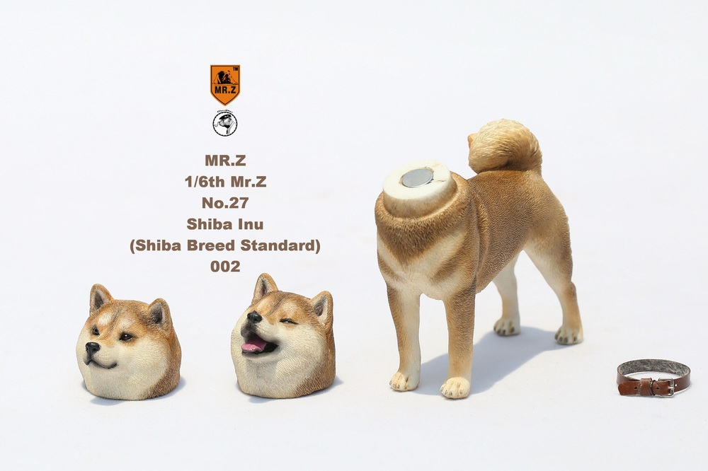 NEW PRODUCT: Mr.Z 1/6 Animal Model No. 27: Japanese shiba Inu X 3 10073211