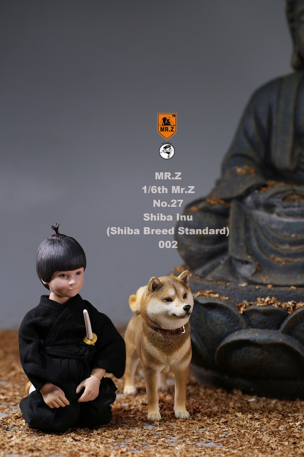 NEW PRODUCT: Mr.Z 1/6 Animal Model No. 27: Japanese shiba Inu X 3 10073310