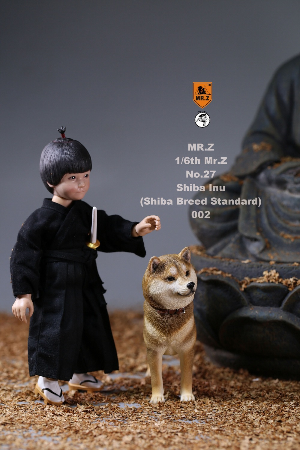 NEW PRODUCT: Mr.Z 1/6 Animal Model No. 27: Japanese shiba Inu X 3 10073410
