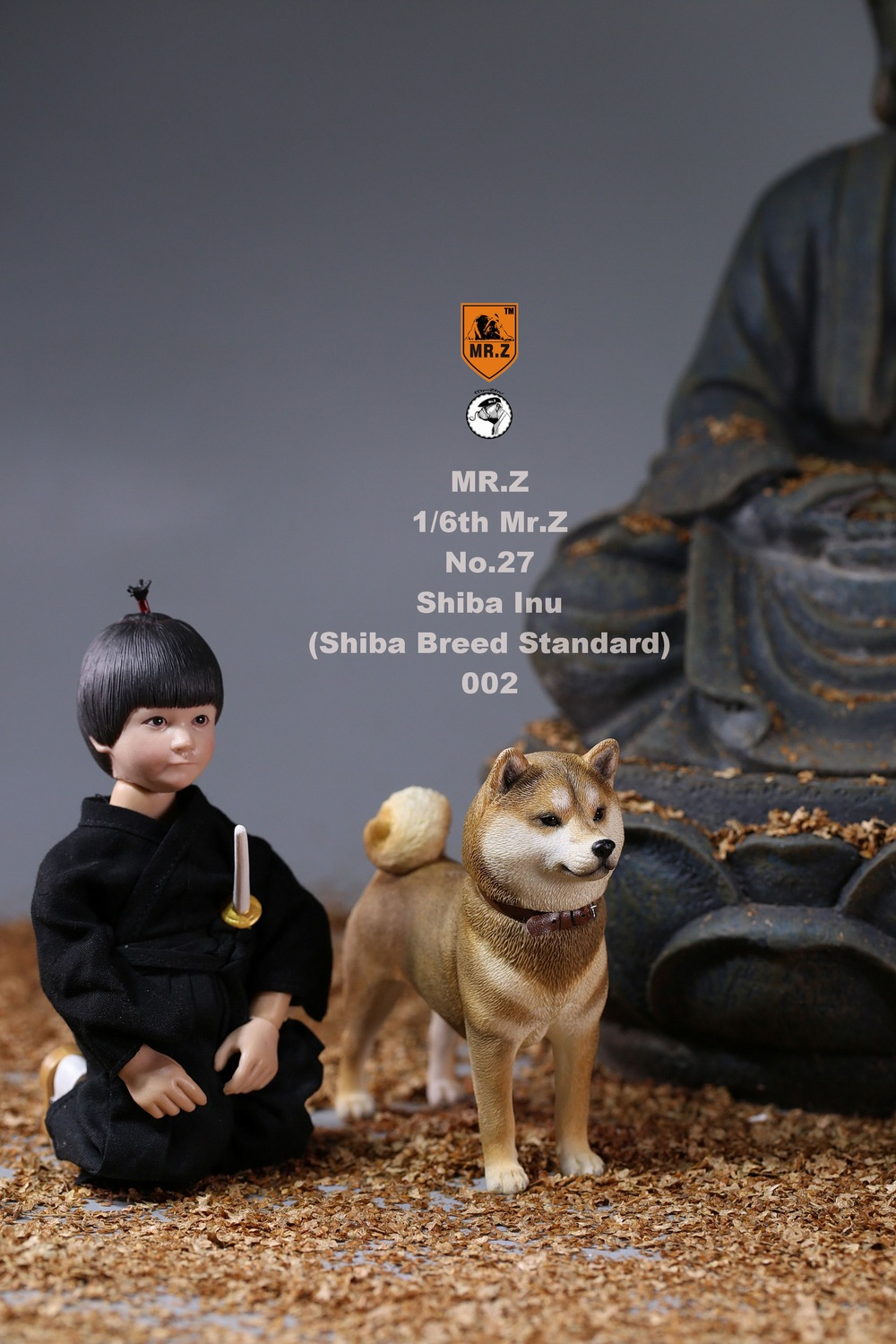 NEW PRODUCT: Mr.Z 1/6 Animal Model No. 27: Japanese shiba Inu X 3 10073411