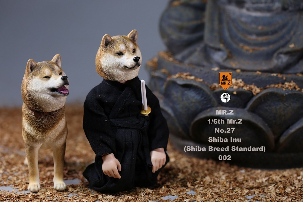 NEW PRODUCT: Mr.Z 1/6 Animal Model No. 27: Japanese shiba Inu X 3 10073710