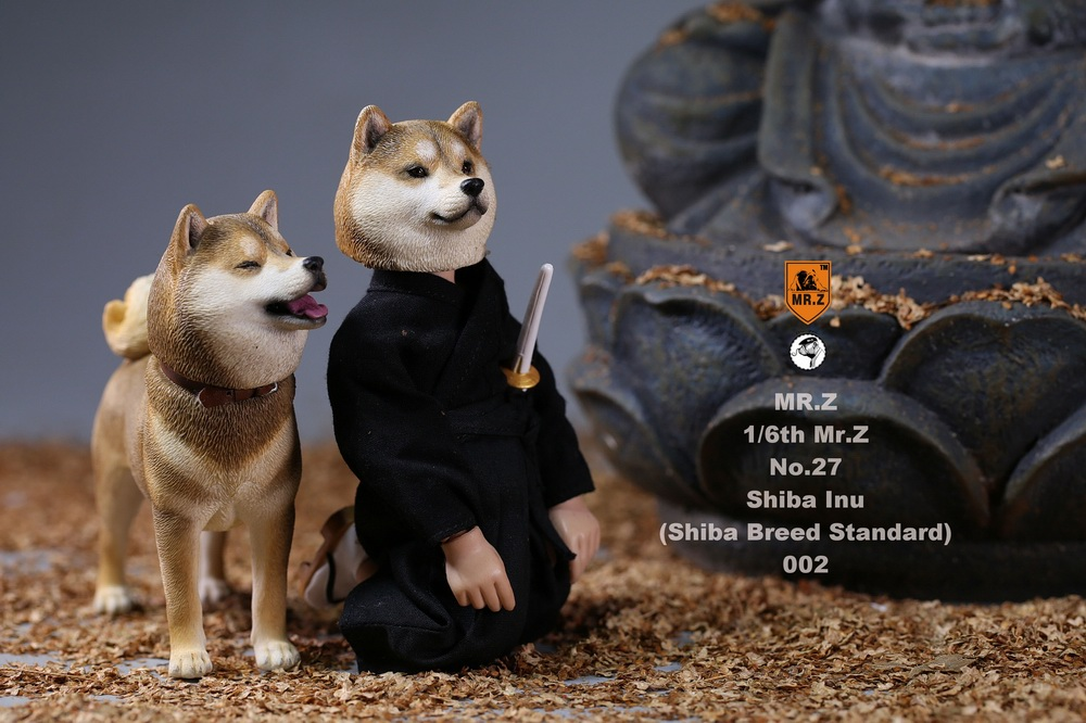 NEW PRODUCT: Mr.Z 1/6 Animal Model No. 27: Japanese shiba Inu X 3 10073711