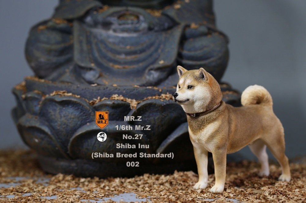 NEW PRODUCT: Mr.Z 1/6 Animal Model No. 27: Japanese shiba Inu X 3 10073810