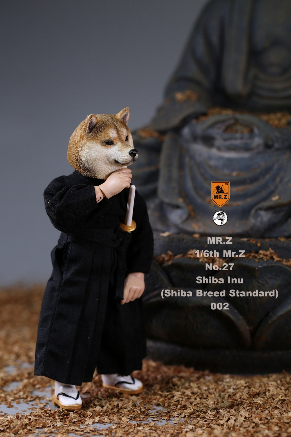 NEW PRODUCT: Mr.Z 1/6 Animal Model No. 27: Japanese shiba Inu X 3 10073811