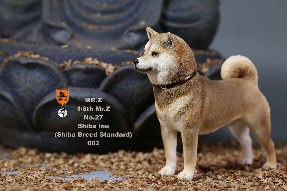 NEW PRODUCT: Mr.Z 1/6 Animal Model No. 27: Japanese shiba Inu X 3 10073911