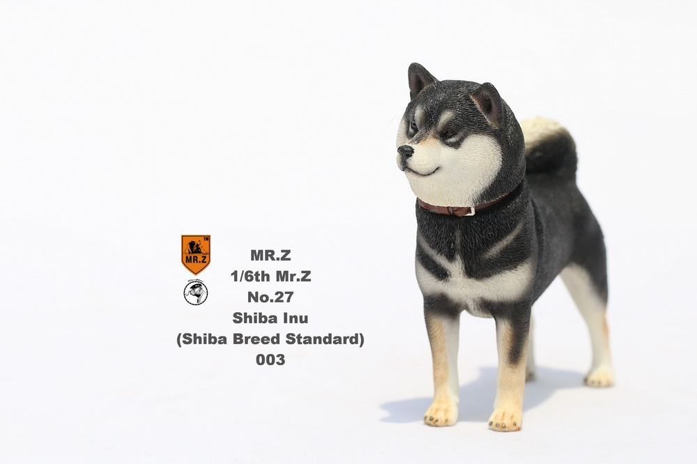 NEW PRODUCT: Mr.Z 1/6 Animal Model No. 27: Japanese shiba Inu X 3 10090711