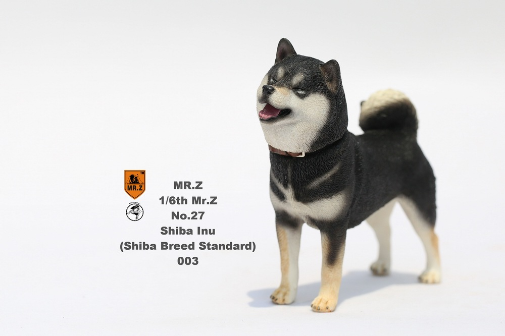 NEW PRODUCT: Mr.Z 1/6 Animal Model No. 27: Japanese shiba Inu X 3 10090811