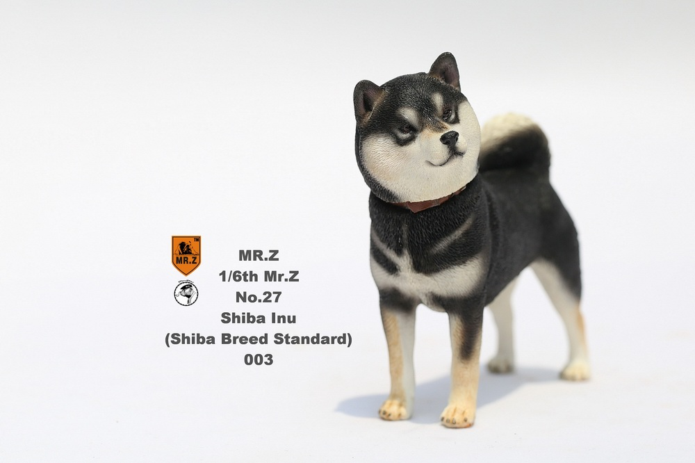 NEW PRODUCT: Mr.Z 1/6 Animal Model No. 27: Japanese shiba Inu X 3 10090812