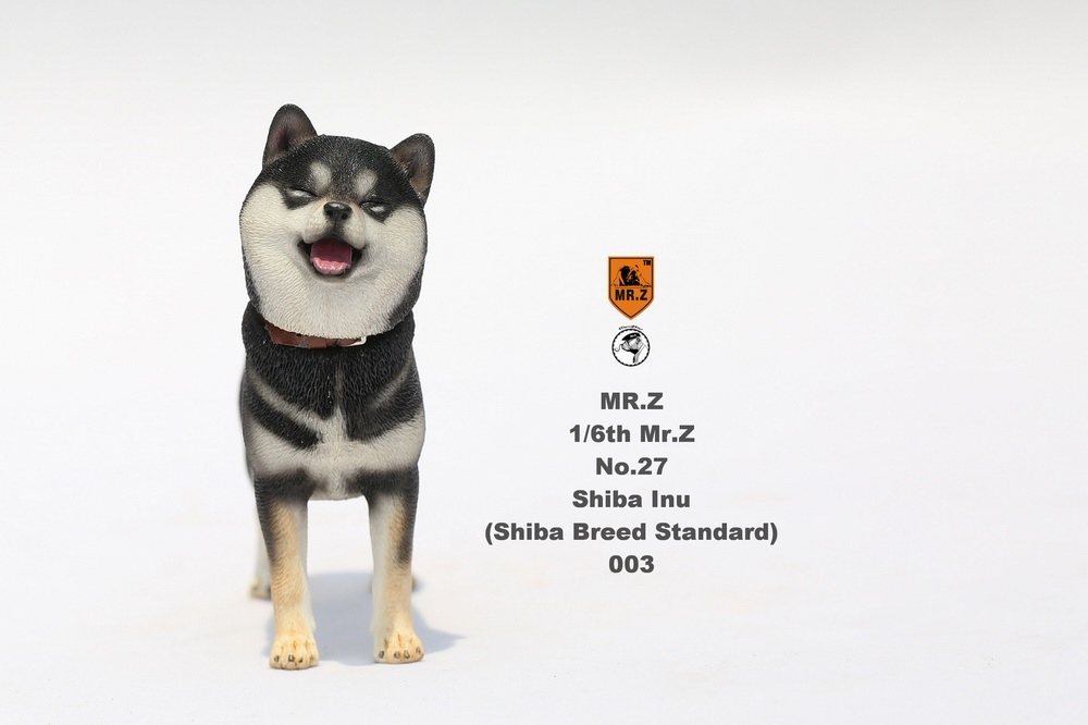NEW PRODUCT: Mr.Z 1/6 Animal Model No. 27: Japanese shiba Inu X 3 10090911