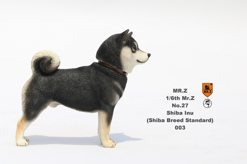 NEW PRODUCT: Mr.Z 1/6 Animal Model No. 27: Japanese shiba Inu X 3 10091013