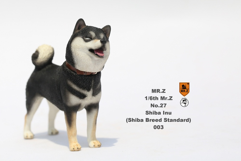 NEW PRODUCT: Mr.Z 1/6 Animal Model No. 27: Japanese shiba Inu X 3 10091111