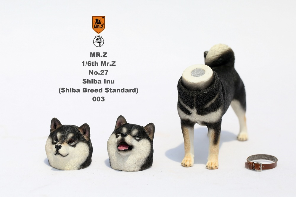 NEW PRODUCT: Mr.Z 1/6 Animal Model No. 27: Japanese shiba Inu X 3 10091112