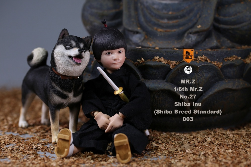 NEW PRODUCT: Mr.Z 1/6 Animal Model No. 27: Japanese shiba Inu X 3 10091311