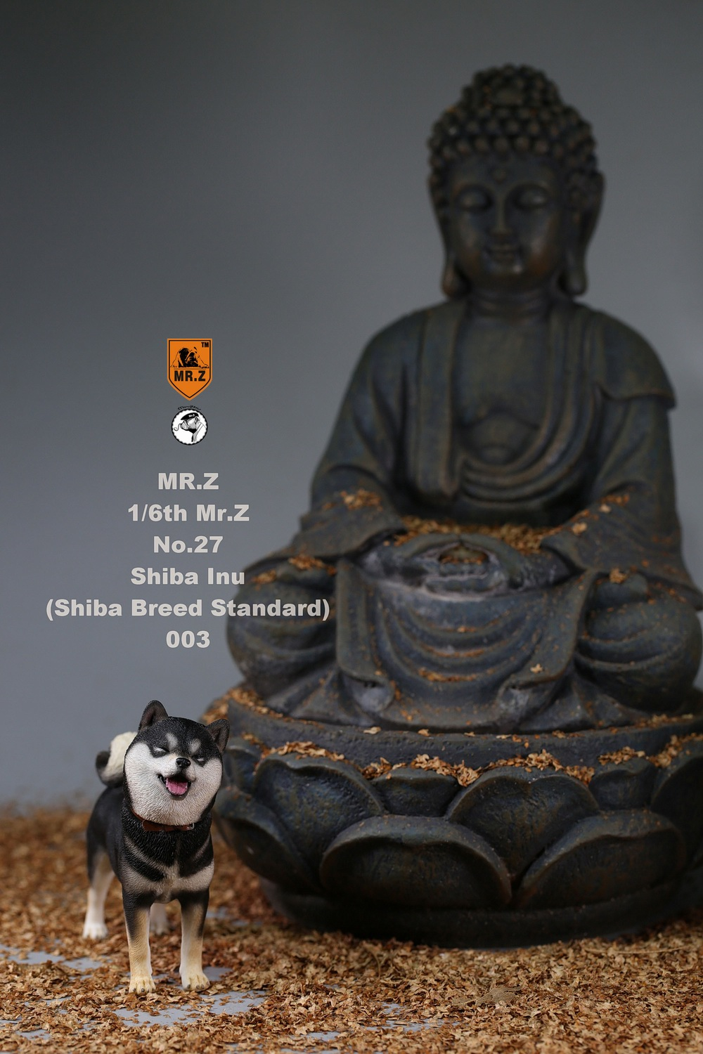 NEW PRODUCT: Mr.Z 1/6 Animal Model No. 27: Japanese shiba Inu X 3 10091312
