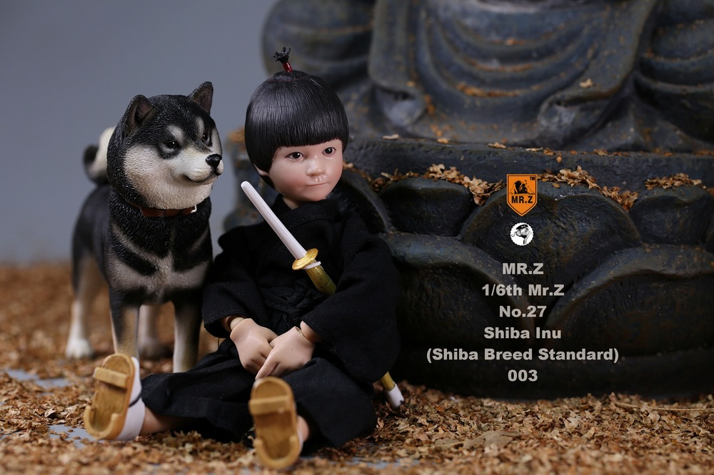 NEW PRODUCT: Mr.Z 1/6 Animal Model No. 27: Japanese shiba Inu X 3 10091412