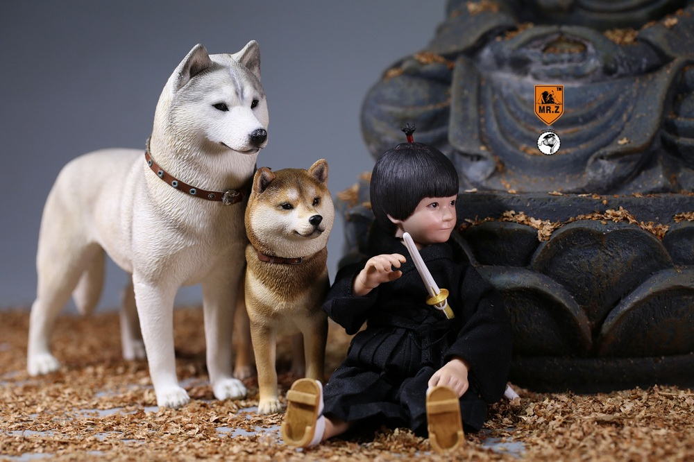 NEW PRODUCT: Mr.Z 1/6 Animal Model No. 27: Japanese shiba Inu X 3 10101211