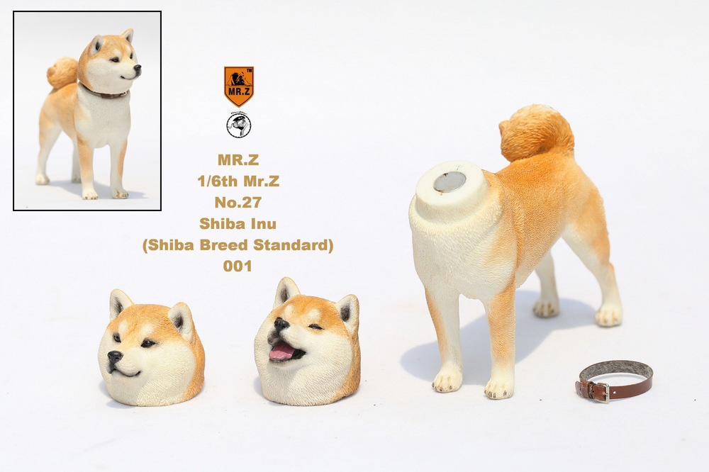 NEW PRODUCT: Mr.Z 1/6 Animal Model No. 27: Japanese shiba Inu X 3 10101310