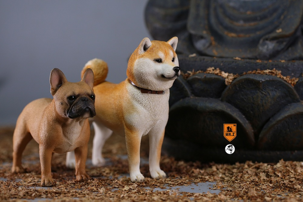 NEW PRODUCT: Mr.Z 1/6 Animal Model No. 27: Japanese shiba Inu X 3 10101311