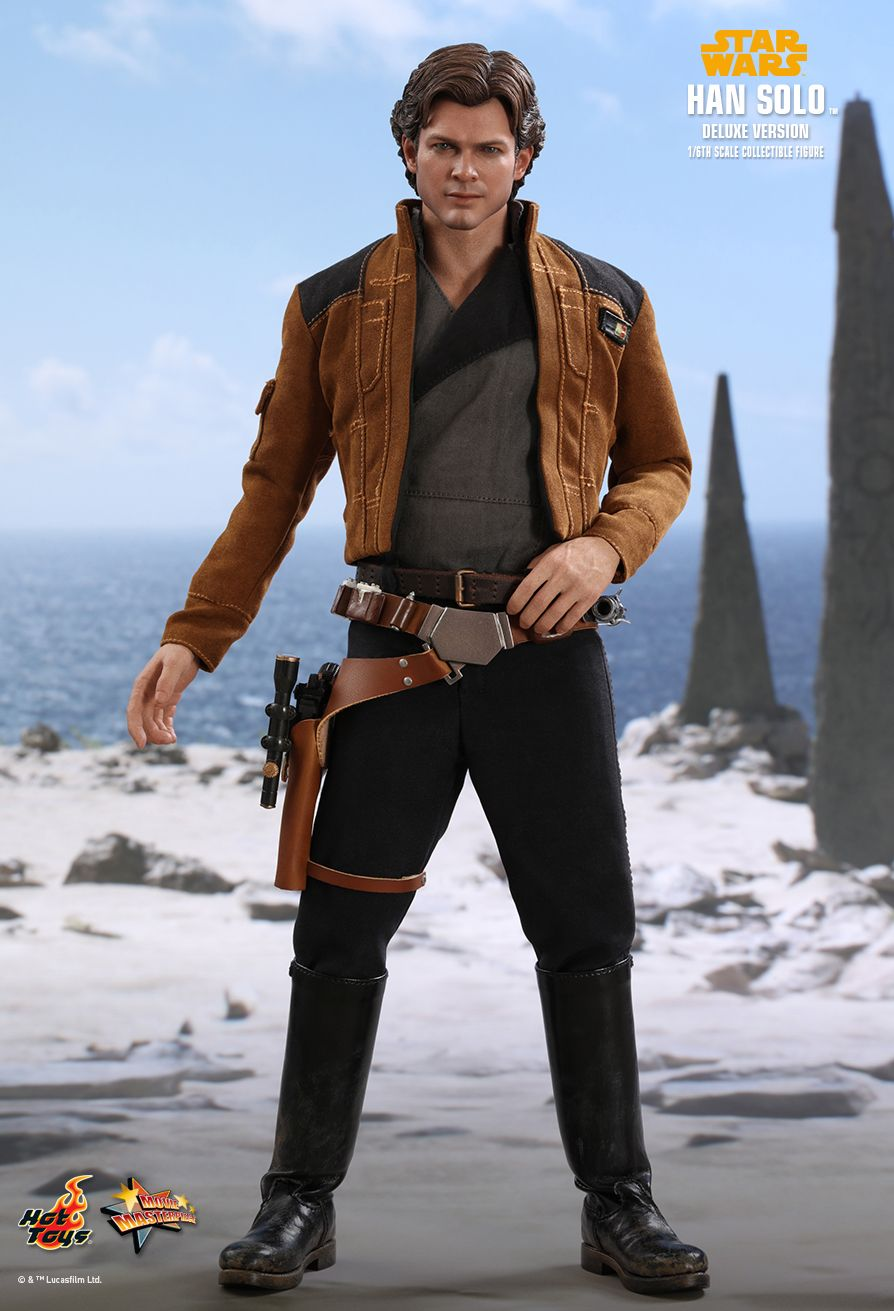 NEW PRODUCT: HOT TOYS: SOLO: A STAR WARS STORY HAN SOLO (TWO VERSIONS) 1/6TH SCALE COLLECTIBLE FIGURE 1031