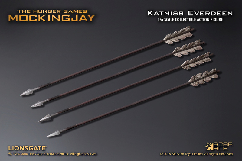 hungergames - NEW PRODUCT: [SA-0036] The Hunger Games Katniss Everdeen Hunting Version Star Ace 1/6 Figures 10_54010