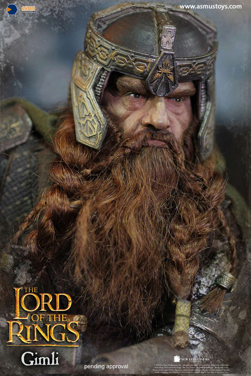 asmus - NEW PRODUCT: Asmus Toys The Lord of the Rings Series: Gimli (LOTR018) 10a10