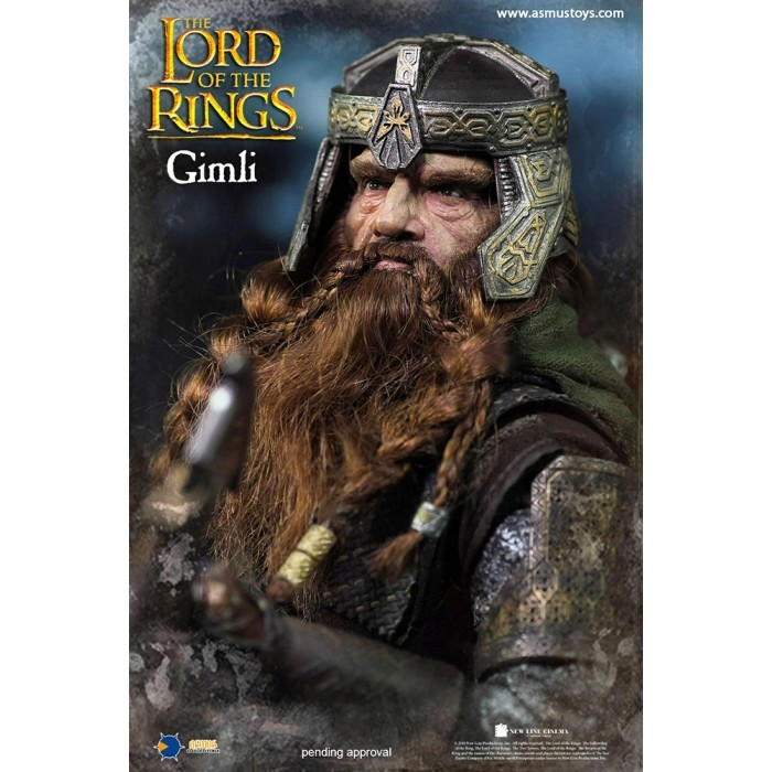 asmus - NEW PRODUCT: Asmus Toys The Lord of the Rings Series: Gimli (LOTR018) 111